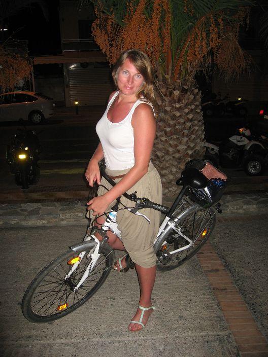 Rower wypożyczony.