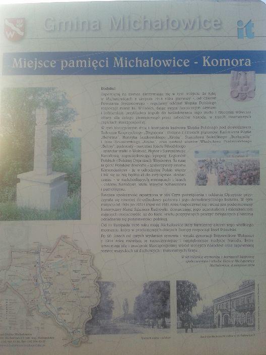 Notka o Michałowicach-Komorze.